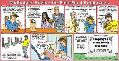 Budget Advice for Fast Food Employees